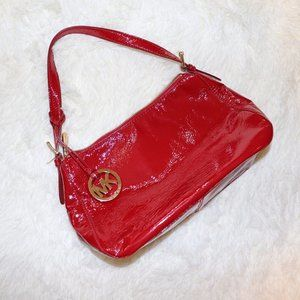 Michael Kors Small Red Purse